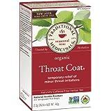 Traditional Medicinals Organic Throat Coat, 20 tea bags