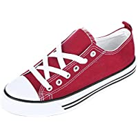 Shop Pretty Girl Women's Sneakers Casual Canvas Shoes Solid Colors Low Top/Low Cut Lace up Fashion Flats 2.0