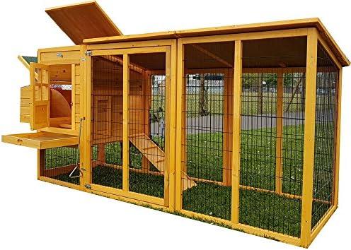Eggshell Buckingham - Jaula grande para gallinas y conejos, 243 cm ...