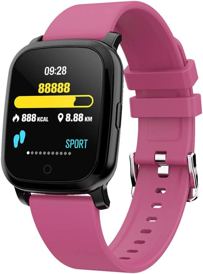 Reloj Inteligente SWT20 Rastreador de Ejercicios Pulsera Pulsera de presión Arterial Termómetro infrarrojo GPS (púrpura)