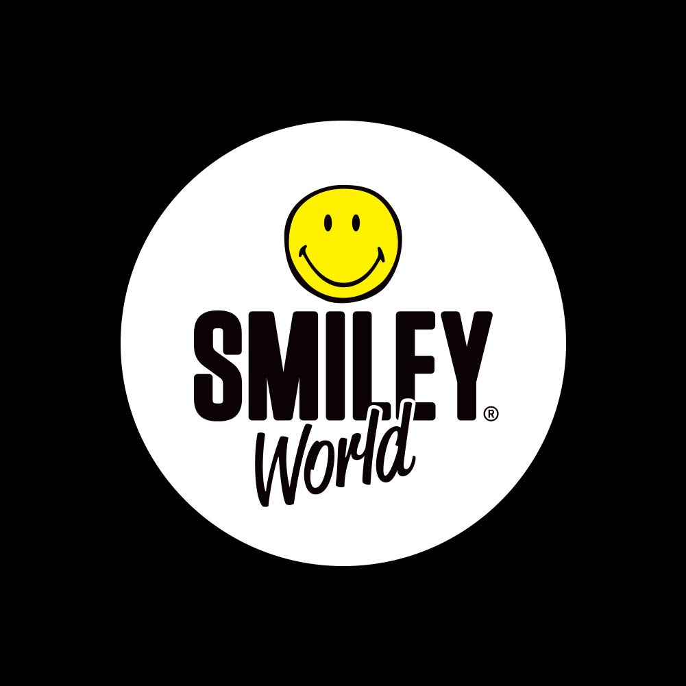 Smiley Big Toothy Smile Happy Yellow Face Satin Chrome Plated Metal Money Clip