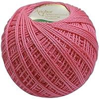 Anchor Mercer Cotton Knitting Thread (Pink, 50 g x 3)