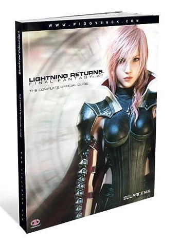 Lightning Returns: Final Fantasy XIII: The Complete Official Guide by Piggyback (2014-02-11) (Lightning Returns Guide Book)