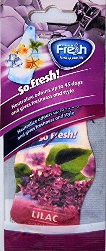 lilac car air freshener - 7