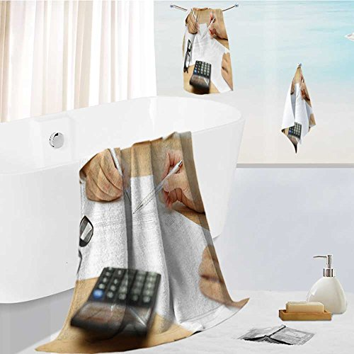 Philiphome Ultra Soft Bathroom Towels Set Businesswoman Is Explaining Terms And Conditions In Agreement To His Client Before He Sign The Document 1 Shower Towel 1 Hand Towel And 1 Face Towel