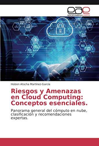 Riesgos y Amenazas en Cloud Computing: Conceptos esenciales.: Panorama general del cómputo en nube, clasificación y recomendaciones expertas. (Spanish Edition)