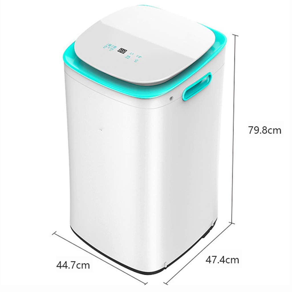 Lavadora DINJUEN automática pequeña pequeña sin Onda frecuencia ...