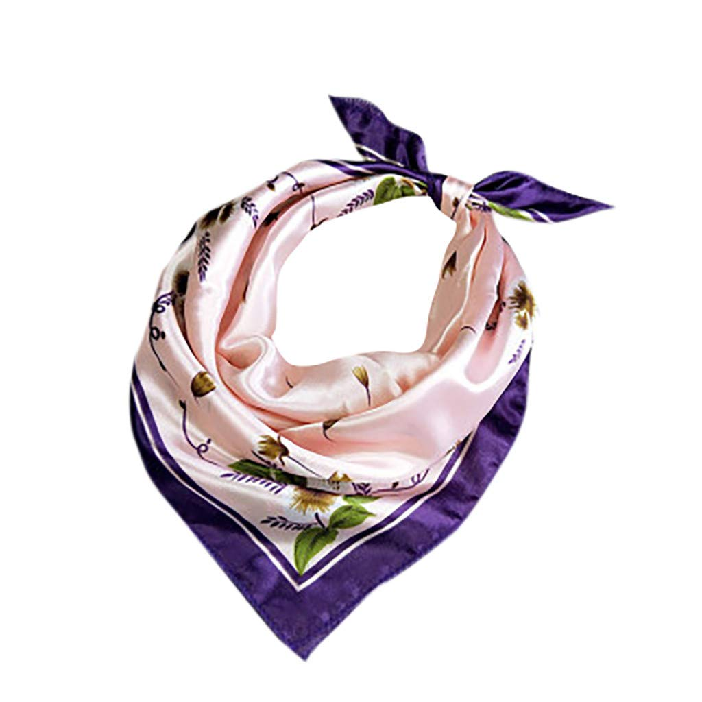 bufanda de cuello ligero bufandas estampadas Aiserkly bufanda de cuello cuadrado para mujer