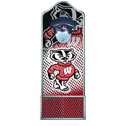 - Team Sports America University of Wisconsin-Madison Light-Up Magnetic Bottle Opener