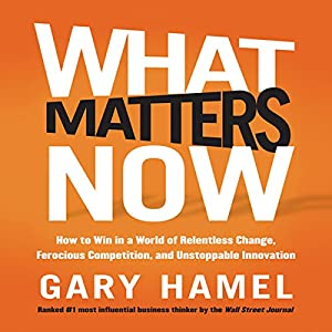 What Matters Now Audiobook
