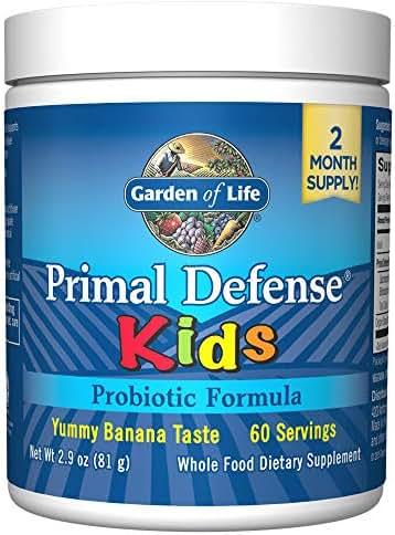 Probiotics: Garden of Life Primal Defense Kids