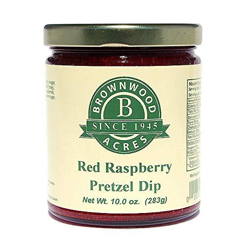 (3 Pack Red Raspberry Pretzel Dip by Brownwood Acres)