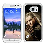 The Hobbit The Desolation Of Smaug Legolas White Shell Case for Samsung Galaxy S6 Active,Unique Cover