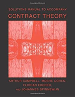 Contract theory the mit press 9780262025768 economics books solutions manual to accompany contract theory the mit press fandeluxe Image collections