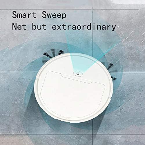 CLEAVE WAVES Aspirateur Robot Robot Balai Balayage Aspirateur Intelligente Multifonctionnelle, Le Balayage Automatique De 1800Pa Sec 1200Mah, Blanc