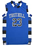 MOLPE Nathan Scott #23 Tree Hill Ravens Basketball Jersey S-XXXL Blue (M)