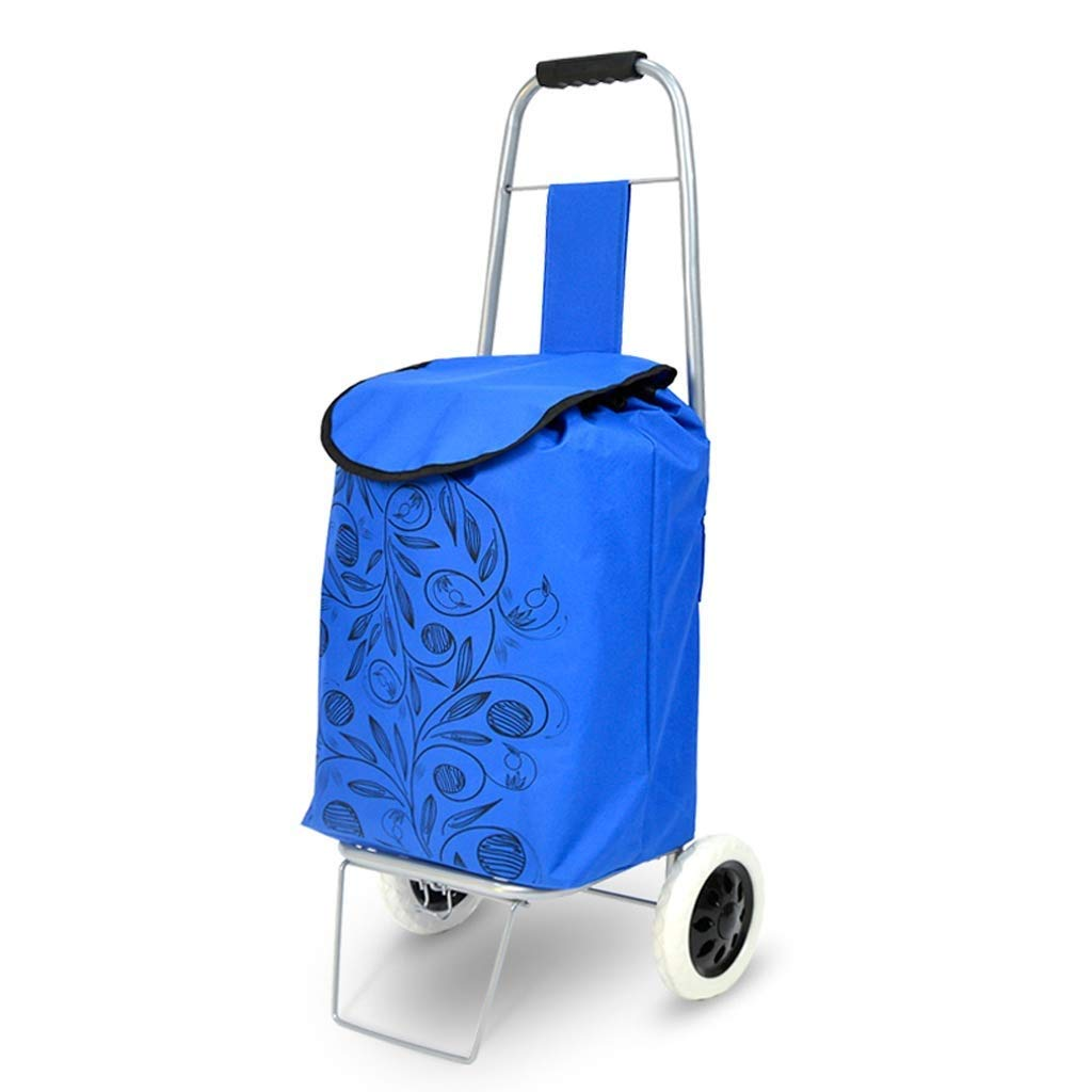 3802149be29c Amazon.com: TYUIO Trolley, Stair Climbing Folding Cart, Shopping ...