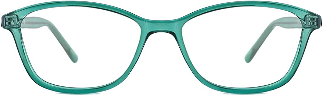 TIJN Blue Light Blocking Glasses Vintage Cateye Frame Anti Eyestrain Blue Ray Filter for Women Girls