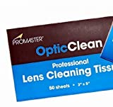 Promaster OpticClean Professional Lens Tissue - 50 Sheet Booklet