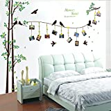 WDA Memory Sweet Do You Remember Tree Photo Frames Wall Decals Family Tree Braches PVC Romovable Wall Stickers Wall Home Decals