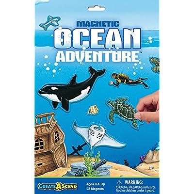 Create-A-Scene Magnetic Playset - Ocean Adventure: Toys & Games