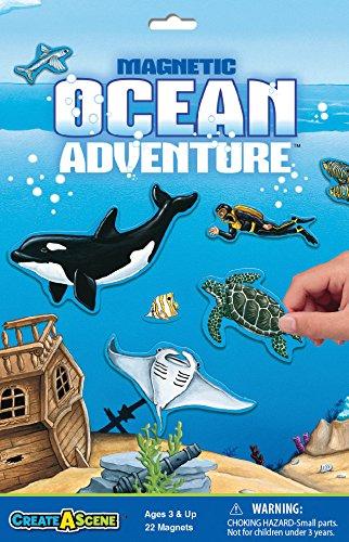 Create-A-Scene Magnetic Playset - Ocean Adventure ()