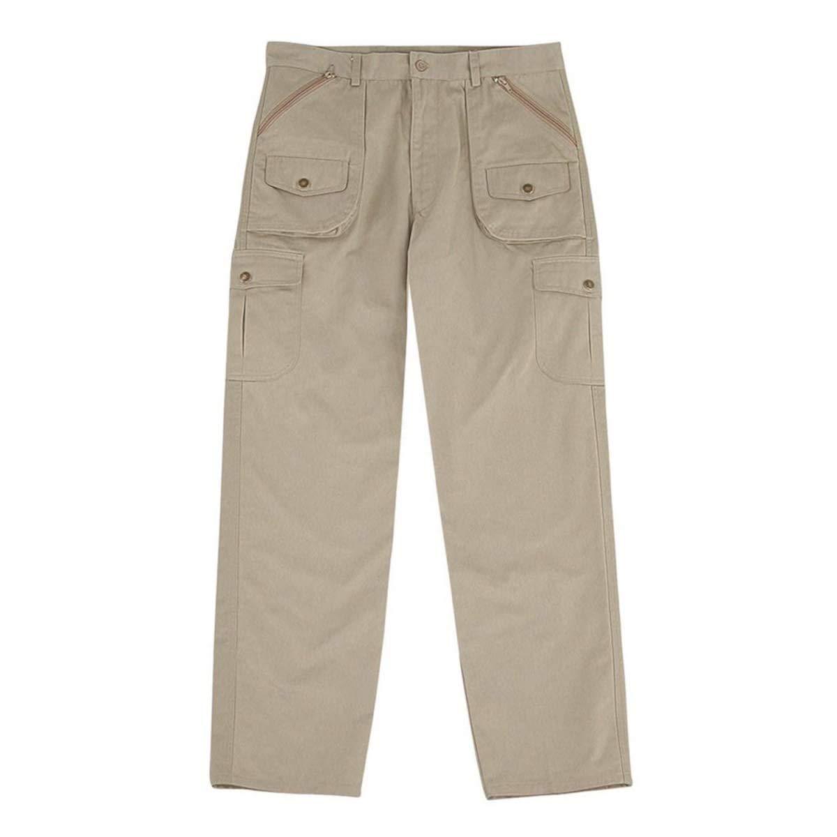 Pantalone Da Lavoro Multitasche Invernale Felpato Internamente - 46, Kaky Mariner