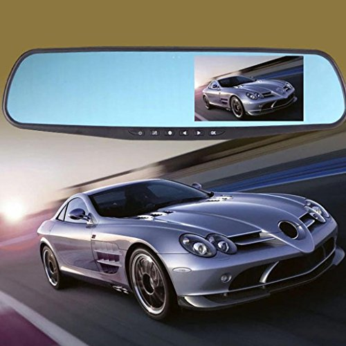 Price comparison product image 1080P Dash Cam, Zulmaliu 170 Degree Wide Angle Rearview Mirror Car Camera DVR, 2.8 inch DVR Video Recorder with LED Night Vision G-sensor Motion Detection and Loop Recording
