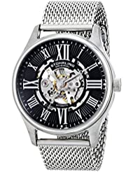 Stuhrling Original Mens 747M.02 Classic Atrium Elite Automatic  Stainless Steel Watch