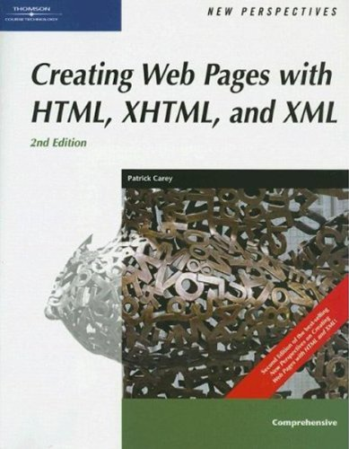 New Perspectives on Creating Web Pages with HTML, XHTML, and XML, Comprehensive (New Perspectives Series) by Cengage Learning