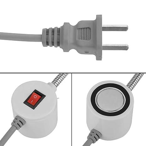 Luz de Costura LED Bombilla de Máquina de Coser Lámpara del imán Luz de Trabajo(19 LED): Amazon.es: Hogar