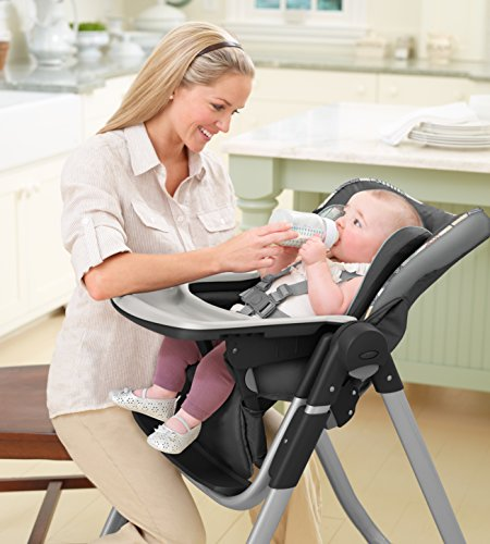 Graco Slim Spaces Folding High Chair, Trail by Graco (Image #2)