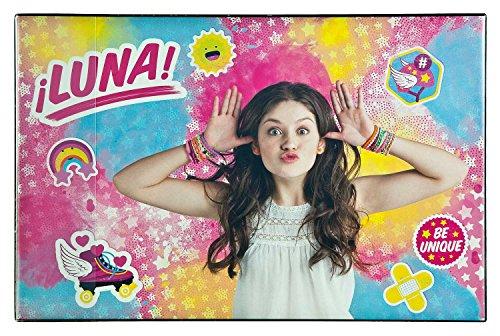 Undercover SORN0681 Kosmetiktasche, Disney Soy Luna, ca. 19 x 26 x 9 cm Fashion Designer Schreibtischunterlage