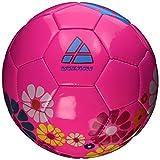 Vizari Blossom Soccer Ball, Pink/Blue, 3