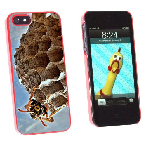 graphics-and-more-bee-wasp-hornet-and-nest-hive-snap-on-hard-protective-case-for-apple-iphone-5-5s-n
