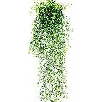 Amazon De Kunstpflanzen Hangend Kunstliche Pflanzen Weinrebe