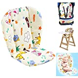 Twoworld Baby Stroller/Car/High Chair Seat Cushion Liner Mat Pad Cover Protector Breathable(Giraffe)