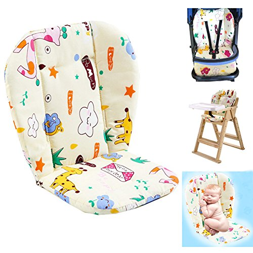 Ancho Baby Stroller/Highchair/Car Seat Cushion Protective Film Breathable high Chair pad (Star Pattern)