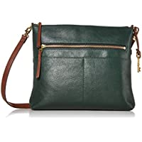 Fossil Fiona Large Leather Crossbody Handbag