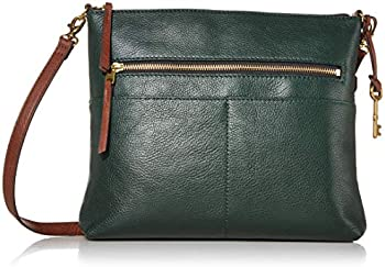 Fossil Fiona Large Leather Crossbody Handbag