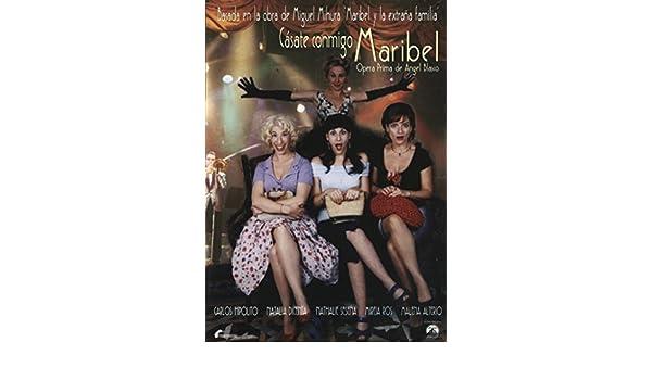Cásate conmigo, Maribel [DVD]: Amazon.es: Natalia Dicenta ...