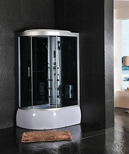 Cabina doccia idromassaggio sauna bagno turco 120x85: Amazon.it ...