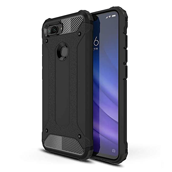 brand new a84a0 41bb1 Amazon.com: SOGOCOOL Xiaomi Mi 8 Lite Case, Heavy Duty with Full ...