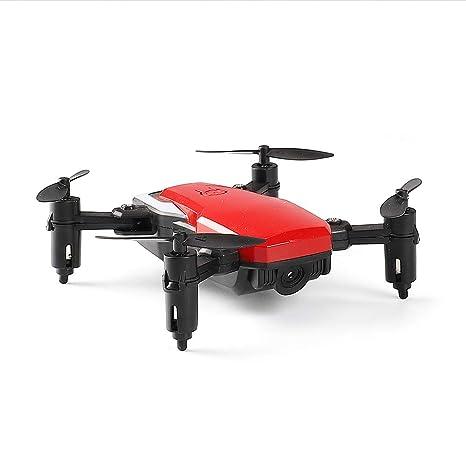 HVBYHF Mini Drone con cámara HD de 1080p y un botón para despegar ...