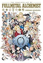 A deluxe art book showcasing the complete color art of the Fullmetal Alchemist manga series.This massive hardcover collection contains all theFullmetal Alchemistcolor artwork by manga artist Hiromu Arakawa from 2001 to 2017, including the s...
