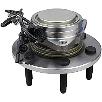 6 Lug 4WD 515096 x 1 Brand New Hub Assembly Front Left Or Right Side Fit 07-14 Escalade Chevy Suburban 1500 TAHOE Yukon XL 07-13 Avalanche Silverado 1500 Sierra 1500