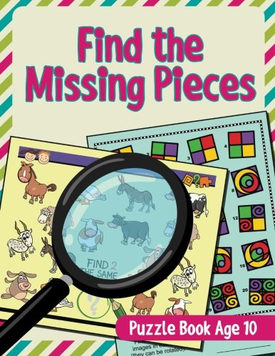 Find Missing Pieces Puzzle Book