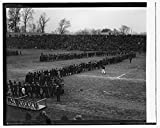 Vintography 8 x 10 Reprinted Old Photo Snake Dance at C.U. vs. Geo. Wash. Game, 11/27/24 1924 National Photo Co 99a