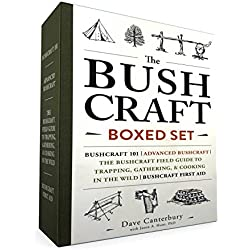 The Bushcraft Boxed Set: Bushcraft 101; Advanced Bushcraft; The Bushcraft Field Guide to Trapping, Gathering, Cooking in the Wild; Bushcraft First Aid