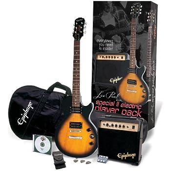 epiphone special ii les paul player pack vintage sunburst musical instruments. Black Bedroom Furniture Sets. Home Design Ideas